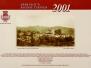 2001 Calendario Storico